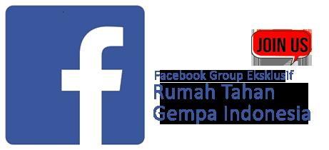 rumah tahan gempa facebook group BARRATAGA